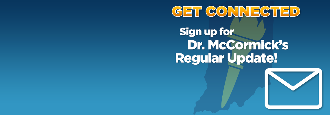 Sign up for Dr. McCormick's Regular Update!